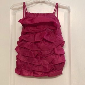 Thirty One Ruffled String back pack